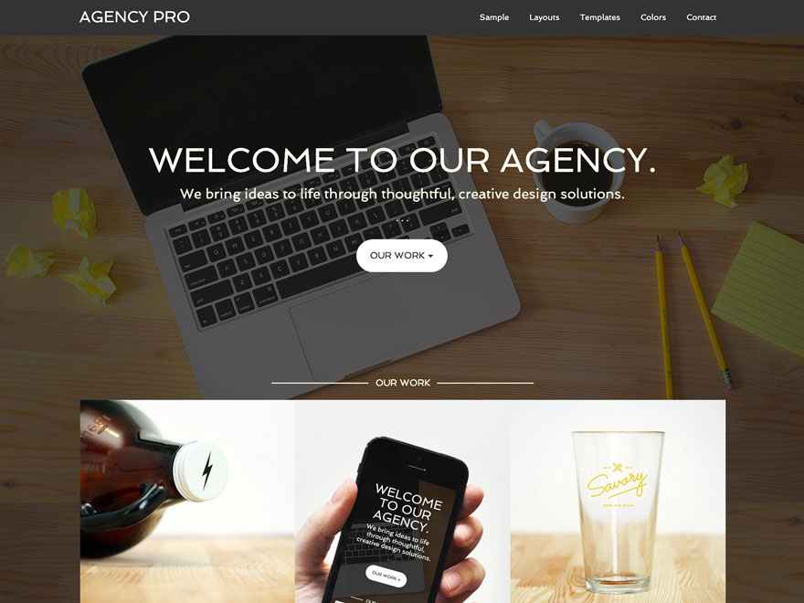 Wordpress SEO Template Agency Pro