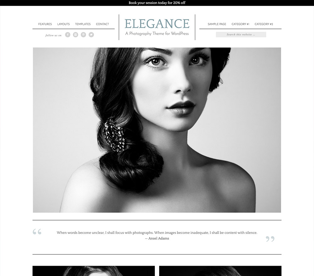 Wordpress SEO Template Elegance Pro